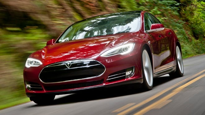 The Tesla Model S luxury sedan was Consumer Reports' Top Pick for best overall vehicle for 2014.