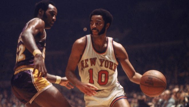 Walt Frazier, who played at Southern Illinois-Carbondale, is one of 12 members in this year's Small College Basketball Hallf of Fame class. He's considered one of the NBA's all-time best players.