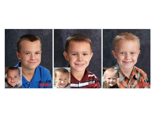 Age-progressed photos were released in 2012 of Andrew,