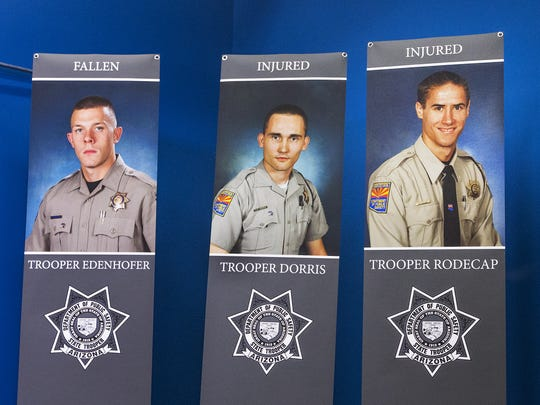 DPS Trooper Tyler Edenhofer was killed and other troopers