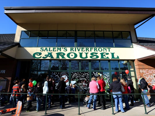 "Salem's Riverfront Carousel celebrates ""15 years of magic"" with a party Saturday, June 4."