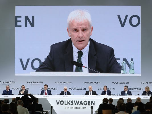 Volkswagen Announces Financial Results For 2016