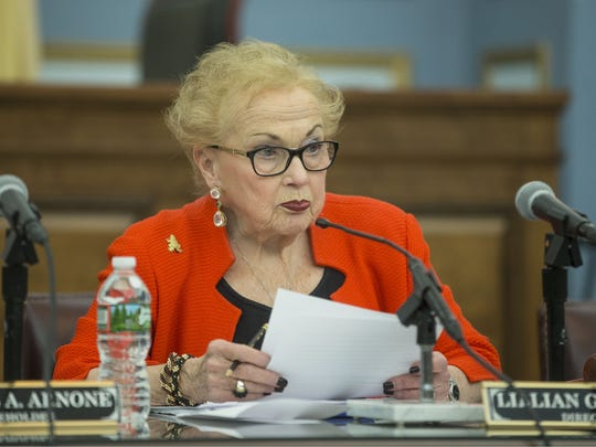 Monmouth County Freeholder Lillian G. Burry said she knows a thing or two about breaking glass ceilings, and she doesn't need the Legislature to remind her that her voice carries just as much weight as a man's.
