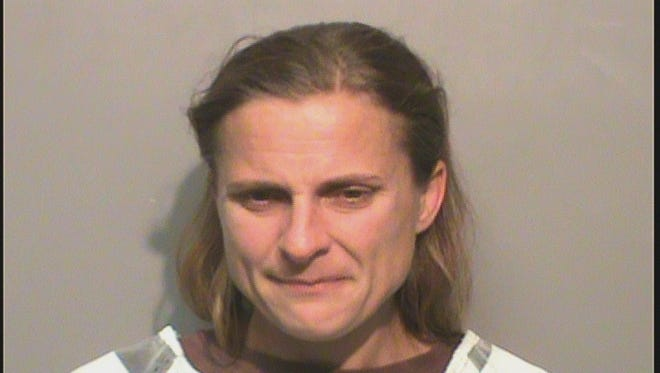 Jessica Marie Clarkson, 37, of Altoona was arrested for 1st degree burglary on Friday.