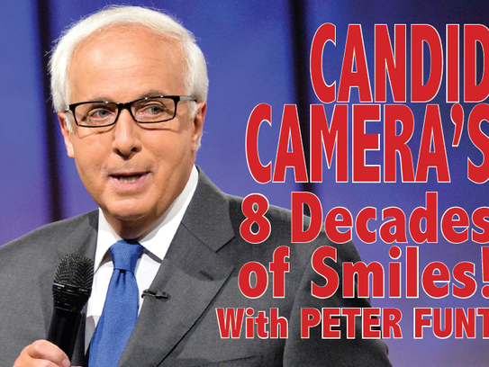 """Peter Funt will bring """"Candid Camera"""" to the Grunin"""