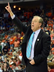 Coastal Carolina coach Cliff Ellis and the Chanticleers