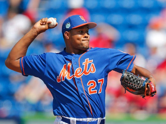 Mets' Jeurys Familia was suspended 15 games by MLB on Wednesday.
