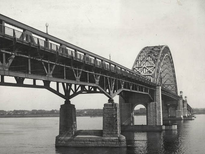 The Tacony-Palmyra Bridge.