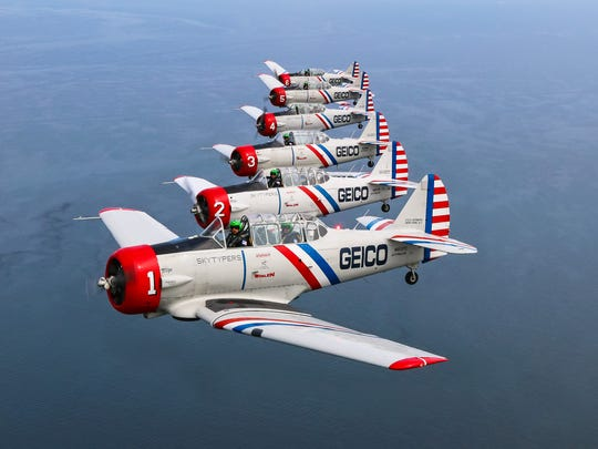 The GEICO Skytypers will return to OC Air Show in June