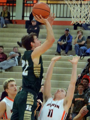 Dan Zolinski (left) and the Howell offense finally put its shooting woes in the past in Friday's win over Brighton.