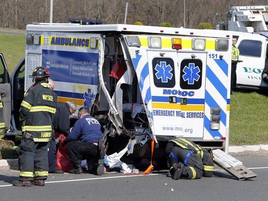 MONOC Ambulance accident