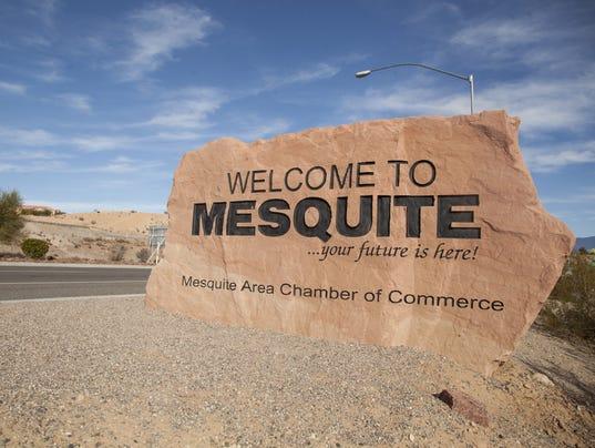 Mesquite sign