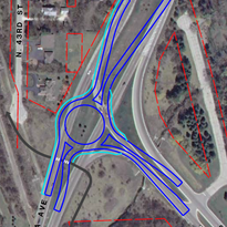 Roundabout proposed at Teutonia Avenue and Green Bay Road