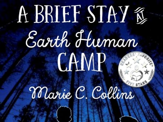 "Marie C. Collins has authored ""A Brief Stay at Earth Human Camp,"""