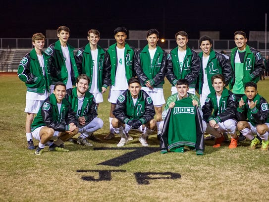 Lafayette High's soccer team honored a former teammate