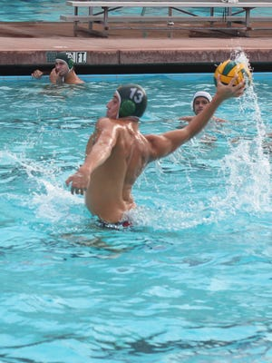 Senior Andre Galvez was named the MVP in boys water polo for the Coastal Canyon League