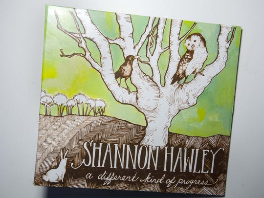 """""""A Different Kind of Progress"""" by Shannon Hawley."""