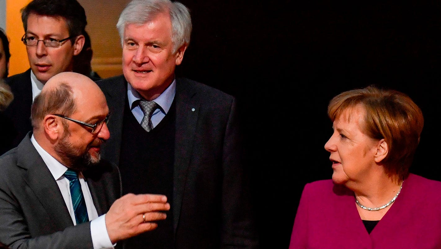 German leader Merkel finally reaches coalition deal, six months after general election