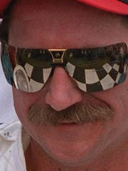 Dale Earnhardt always received a hair and mustache