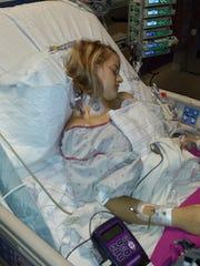 Show Low's Karli Fawcett had open-heart surgery in