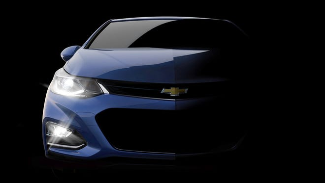 The next-generation Cruze will be larger yet lighter than the current model, with new technologies.