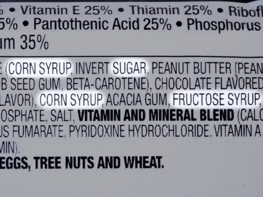 Check the ingredient label for additives.