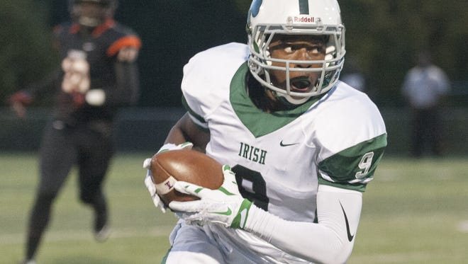 A senior at Camden Catholic, Jamal Parker has shown the ability to score in a variety of ways.