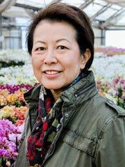 Teresa Matsui at Matsui Nursery