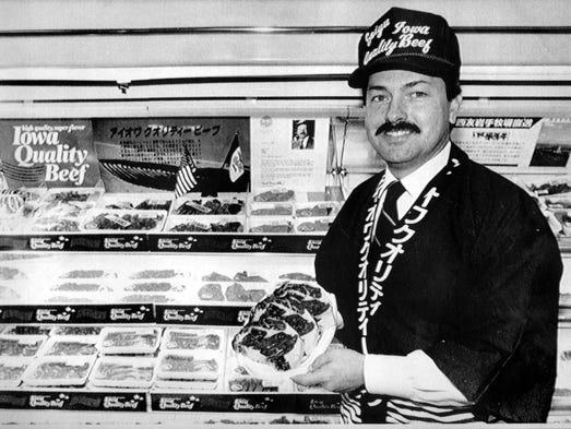 Gov.Terry Branstad in 1988.