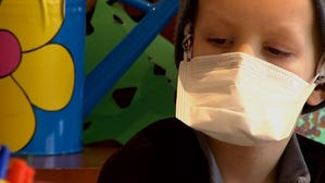 Young boy battles rare form of cancer