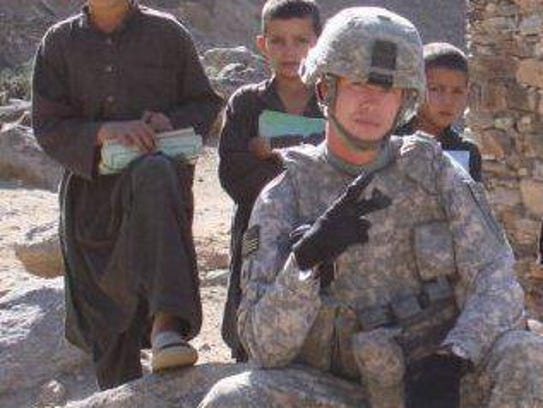 U.S. Army Staff Sgt. Joshua Berry, shown here serving