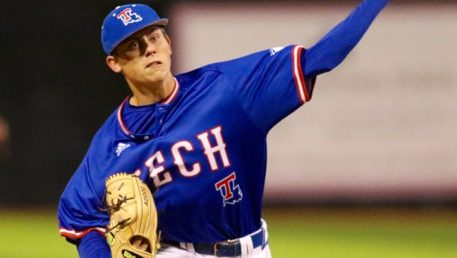 Louisiana Tech senior pitcher Tyler Clancy pitched six shutout innings with nine strikeouts to beat No. 6 UL Lafayette back in February.
