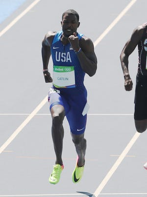 Justin Gatlin (USA) is probably in his final Olympics.