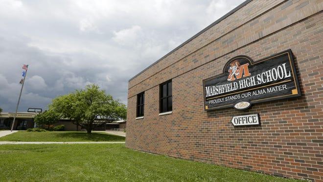 Marshfield High School.