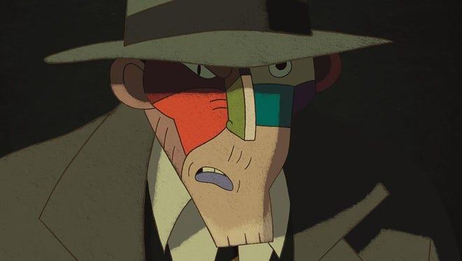 "A criminal mastermind called ""The Face"" serves as the villain in ""Phantom Boy."""
