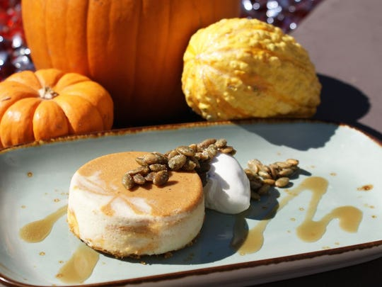 Enjoy an autumnal dessert