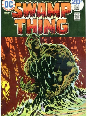 """Bernie Wrightson's art made """"Swamp Thing"""" instantly memorable."""