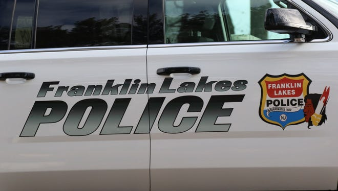 A Franklin Lakes police car.