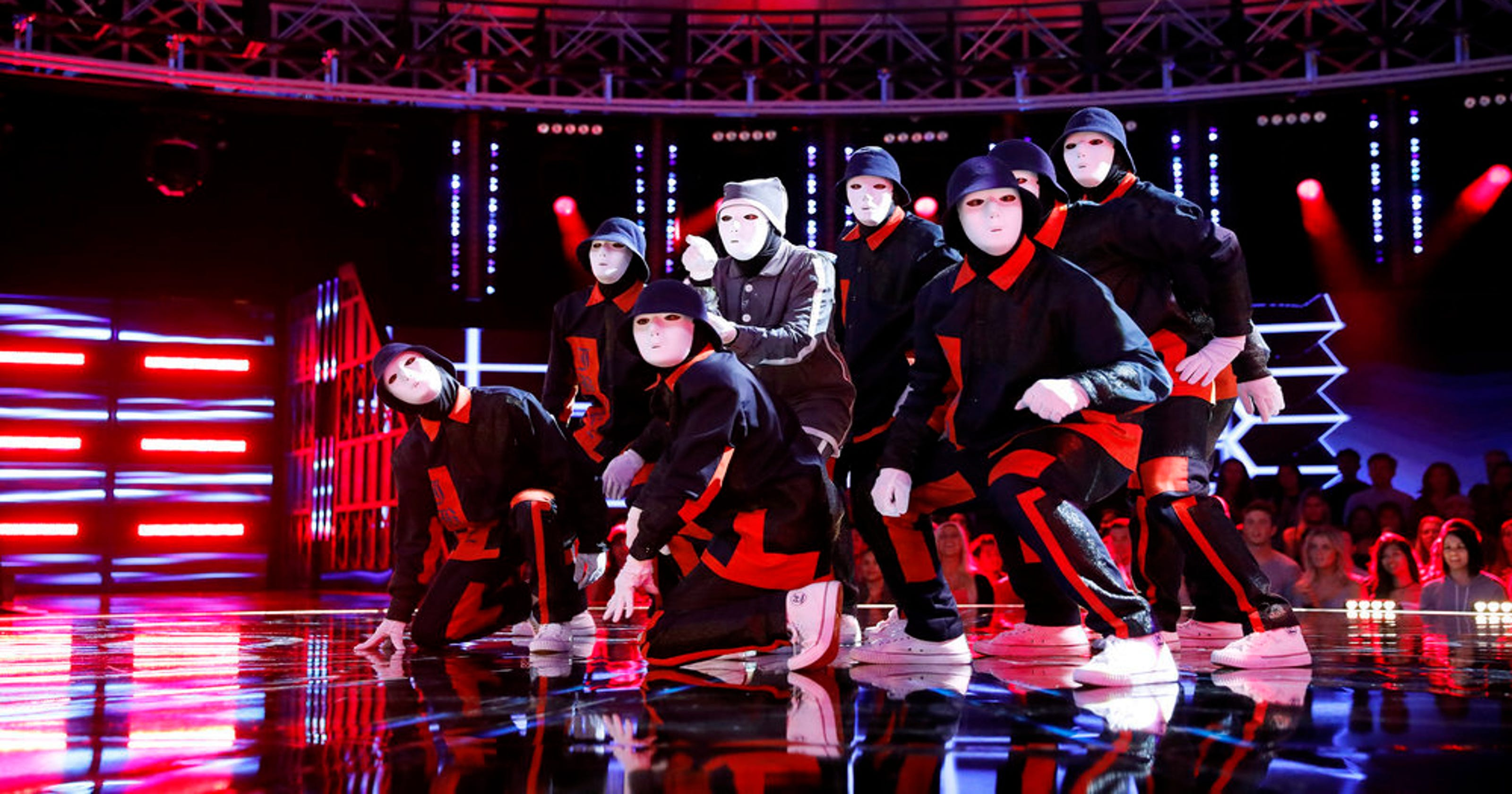 World of Dance': Jabbawockeez are eliminated after killing it