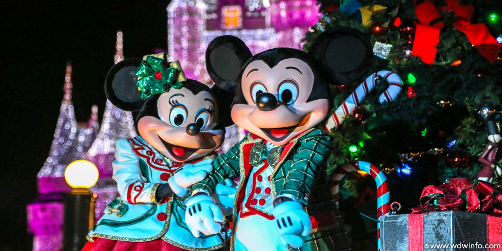 at Mickey's Very Merry Christmas Party