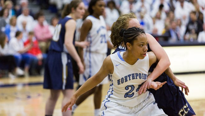 Jade Wells will carry much of the scoring load for Northpoint in Thursday's Division II-A semifinal game against Knoxville Webb.
