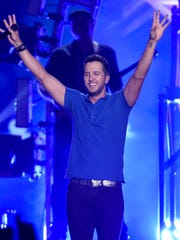 Luke Bryan performs at the 50th annual Academy of Country