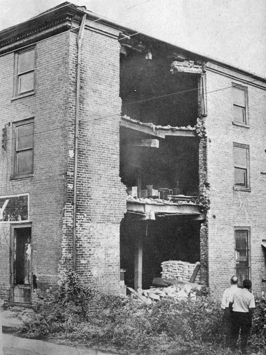 American Hotel collapse 1972