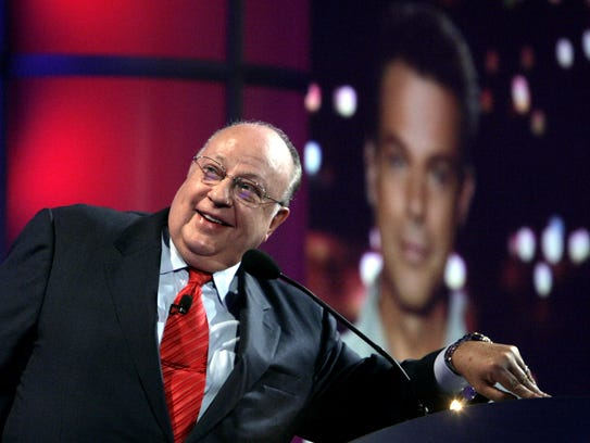Roger Ailes, chairman and chief executive officer of