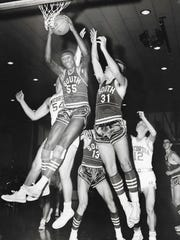 Willie Long (55) played for Fort Wayne South and was Indiana Mr. Basketball in 1967.