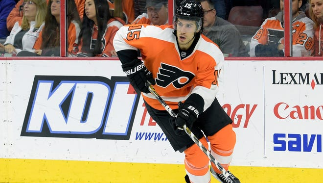 Michael Del Zotto has nine goals this season, one shy of a career high.