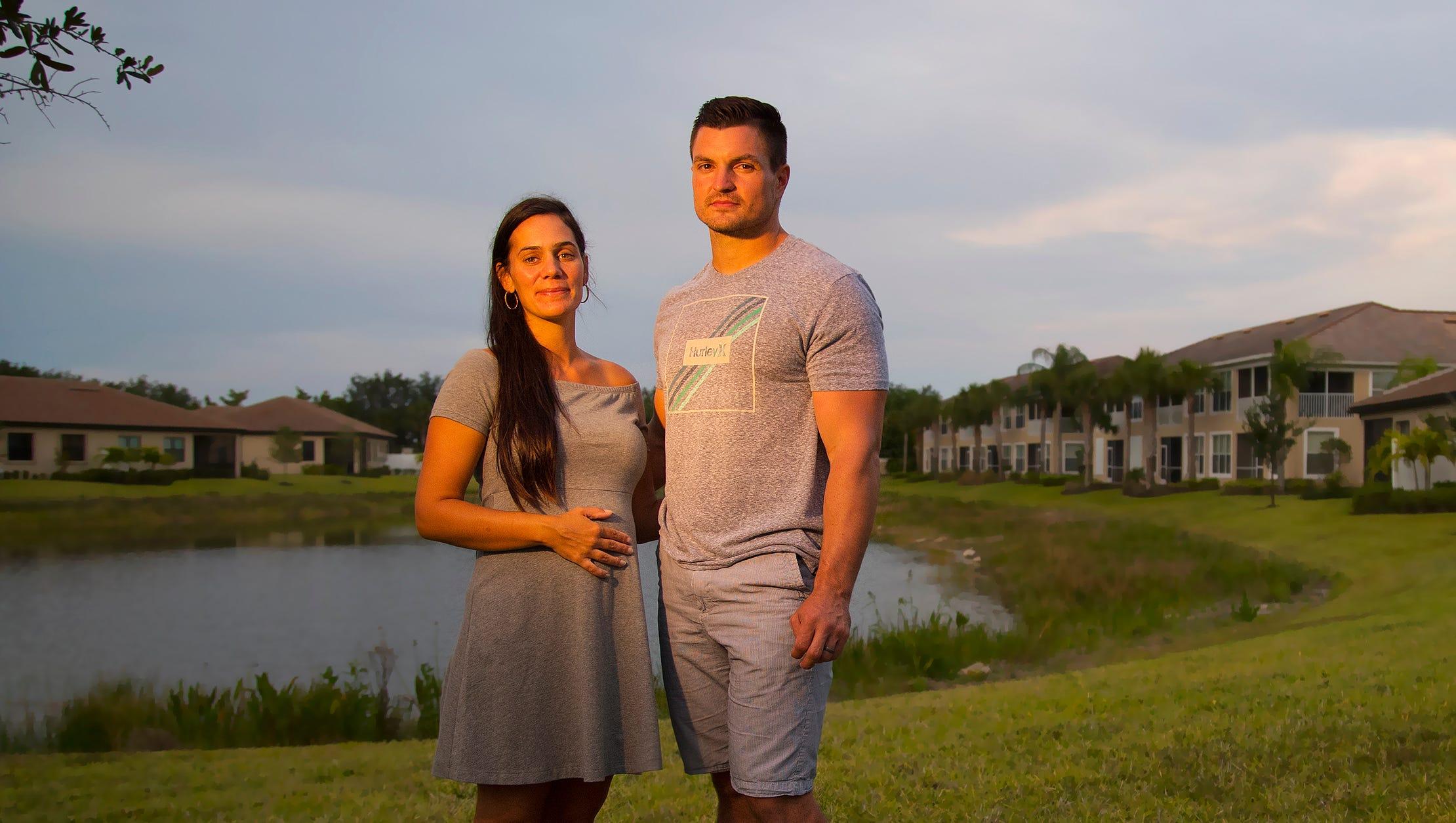 mother u0026 39 s day  couple celebrates new pregnancy after lightning strike