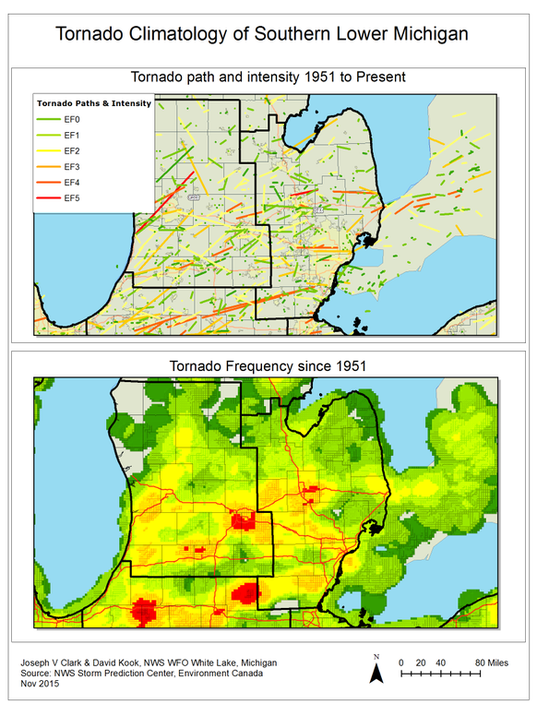 Lansing flint are tornado hotspots meteorologists say publicscrutiny Image collections