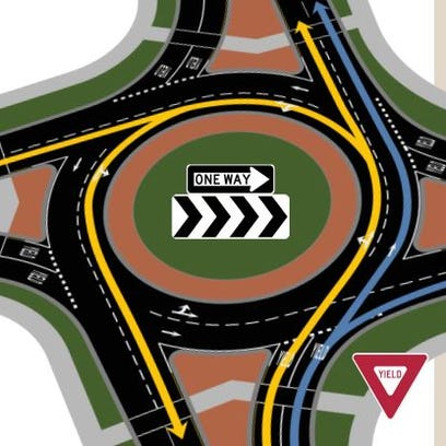 Portage County's first roundabout opens Sept. 3.