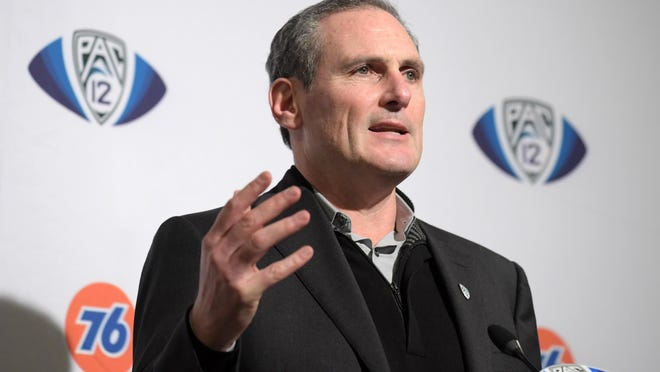 The athletes group called for Pac-12 Commissioner Larry Scott, administrators and coaches to take pay cuts to preserve all existing programs. Scott is already taking a 12% cut in his base salary for the 2021 fiscal year. His salary was $2.95 million during the 2018 calendar year, according to federal tax records.
